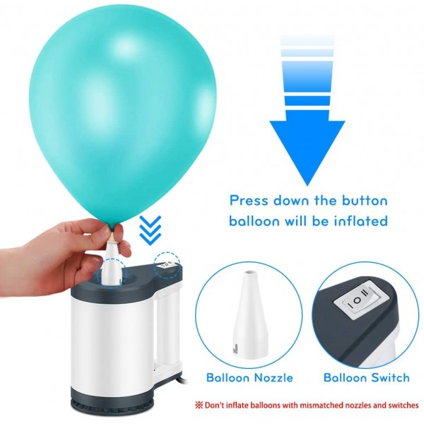 NEWO BP1 Black Electric Balloon Pump