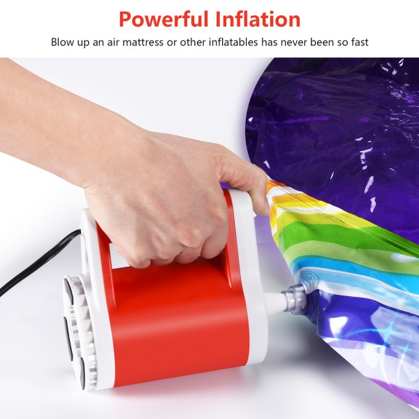 NEWO BP1 Electric Balloon Pump (Red)